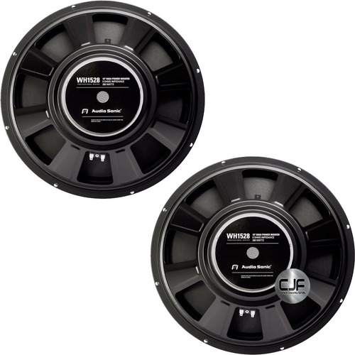 2 Parlantes 15 Audiosonic Wh1528 Pro 300w 8 Bobina 50mm  Cjf
