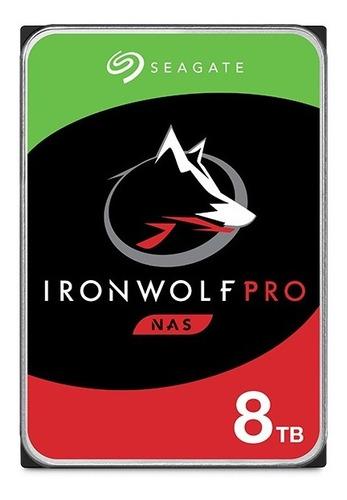 Disco Rigido Hdd Seagate Ironwolf 8tb 7200rpm Sata 3.5 Pc