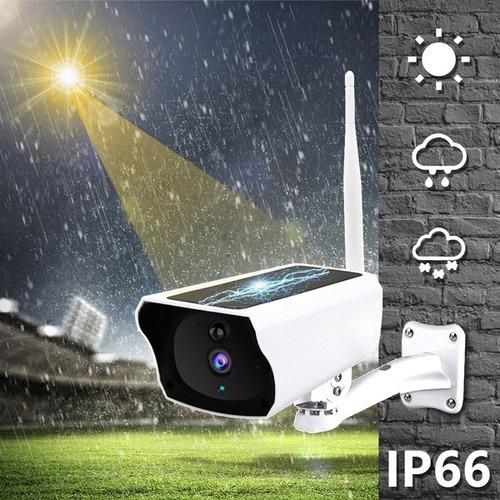 Cámara Ip De Vigilancia De Seguridad Con Energía Solar 1080p