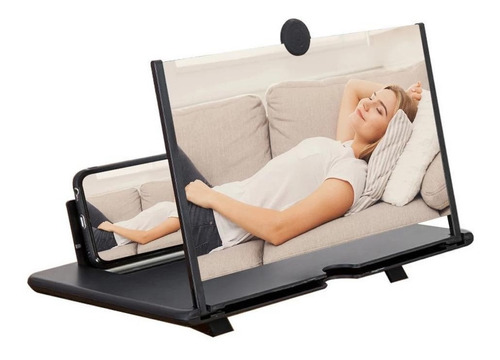 Pantalla Aumento Para Celular Zoom 3d Hd 12  Video