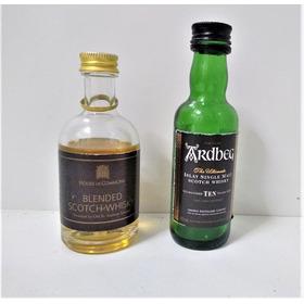 Botellitas De Colección Miniaturas Whisky Traídas De Escocia
