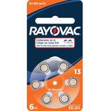 Pilas Para Audifonos Rayovac 13/312/675/10 Blister X 6 Unid
