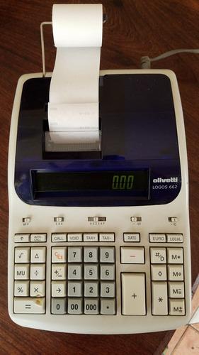 Calculadora Olivetti Logos 662