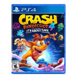 Crash Bandicoot 4: Its About Time Activision Ps4 Físico
