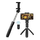 Kit Monopod Bluetooth Baston Selfies + Tripode Tik Tok