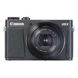 Canon Powershot G9 X Mark Ii Compacta Color Negro