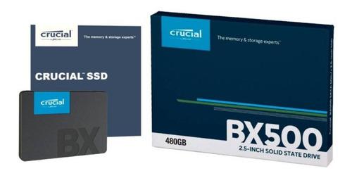 Disco Ssd 480gb 2.5 Bx500 Crucial - Zonaportatil