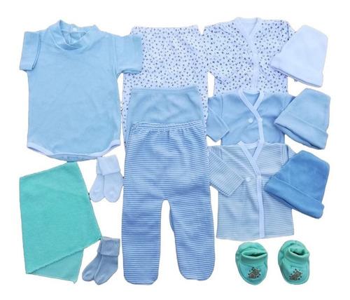 Set Ajuar Recien Nacido 14 Prendas Body Batita Osito Y Mas