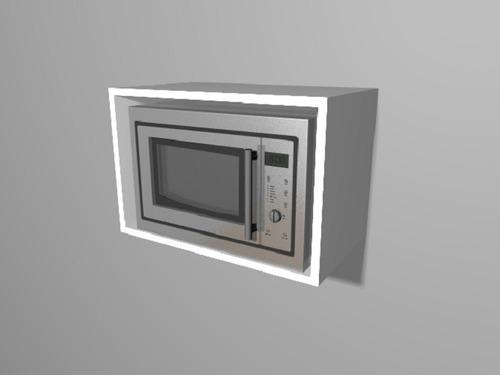 Cubo Alacena Porta Microondas Despensero Tandar 18mm
