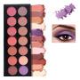 Paleta De Sombras Color Mineral 14 Tons Mate Pigmentação Boa Original