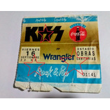 Entrada Kiss En Obras 16 Septiembre 1994 - Original