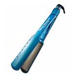 Planchita De Pelo Babyliss Pro Nano Titanium 2073 Babnt2073t Azul 220v