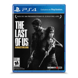 The Last Of Us Remastered Físico Ps4 Sony