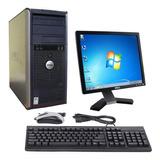 Equipo Computadora Intel Dual 4gb 160gb + Monitor 19 + Wifi