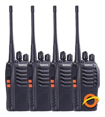Handy Baofeng Recargable Uhf Vox Manos Libres Canales