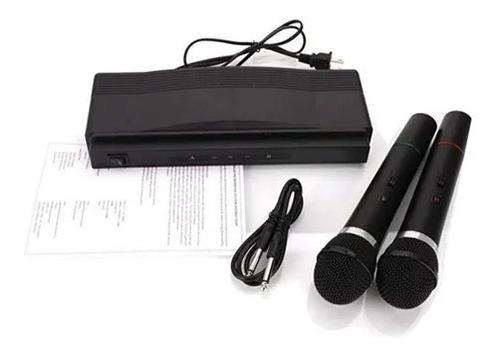Microfonos Inalámbricos Duales P/ Karaoke + Baterias Alcalin
