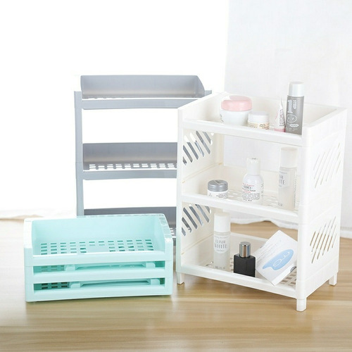 Organizador De Maquillaje Plegable Rack De Baño