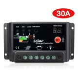 Controlador De Carga Solar Sunix® 30a 12v/24v Inteligente