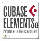 Sw: Steinberg Cubase 8 Elements - Secuenciador - Daw