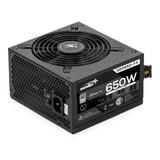 Fuente De Alimentación Para Pc Sentey Solid Power Series Sdp650-fx     650w Black 220v