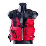 Gran Diseño Ayuda Vela Kayak Pesca Chaleco Salvavidas Chalec