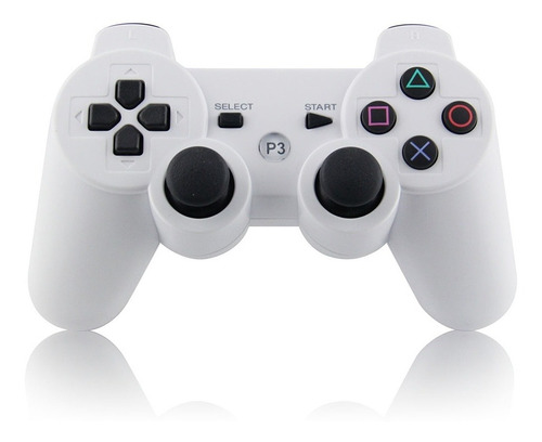 Joystick Control Mando Playstation 3 Ps3 Inalambrico  Blanco