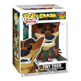 Funko Pop Crash Bandicoot Tiny Tiger 533 Original Scarlet