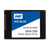 Disco Sólido Interno Western Digital  Wds250g2b0a 250gb Azul