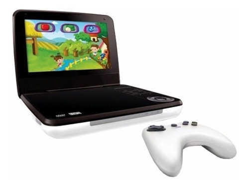 Dvd Portatil + Soporte Kit Auto Pantalla Hd Juegos Musica Peliculas Bolso Funda Apoyacabezas + 100 Video Juegos Joystick