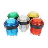 6 Botónes Arcade Led Calidad Superior - 5v- Color A Eleccion