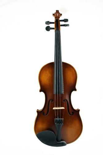 Violin 4/4 Con Estuche Creep Yv-4001 Natural Matte
