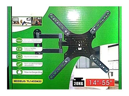 Soporte Pantalla Articulado Tv 14-55 PuLG Tl1455n20 - T2496