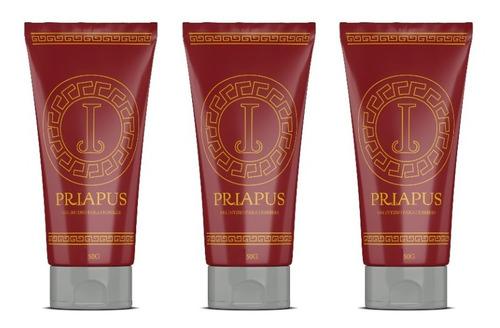 Priapus 3x2 -  Gel Intimo - Marca Oficial