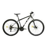 Mountain Bike Slp 5 Pro R29 18  21v Frenos De Disco Mecánico Cambios Slp Color Negro/blanco