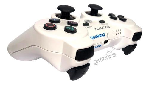 Joystick Inalámbrico Sony Dualshock 3 White Ps3