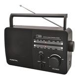 Radio Portatil Punktal Pk-96ac Am Fm Pilas Y 220v Portable