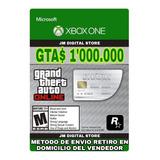 Gta V Online Dinero 1.000.000 Xbox One + 3000 De Rp