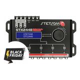 Processador De Áudio Digital Stetsom Stx2448 Black Friday