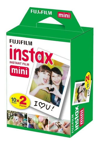 2 Rollos Fuji Instax Mini Instant Lomo