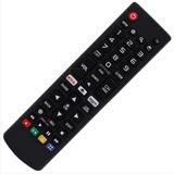 Controle P/ Tvs Smart 4k LG Netflix Amazon Uj6300 Uk6510 Lk