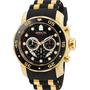Relógio Invicta Pro Diver 6981 Dourado C/ Caixa Colecionador Original