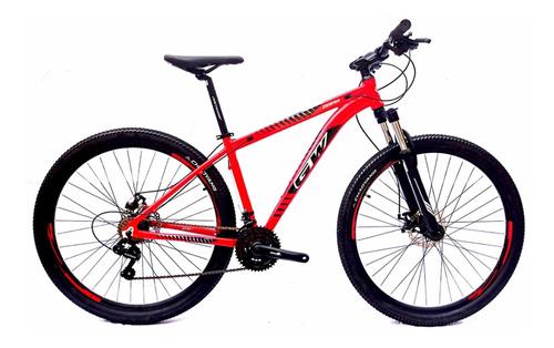 Bicicleta Gw Zebra Montaña Rin 29 Tourney 7 Vel Bloqueo Mtb