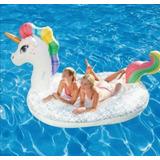 Unicornio Gigante Summer Waves, Inflable Para 2 Personas