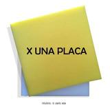 Placa De Goma Espuma 40x40x5 - Densidad 24kg.