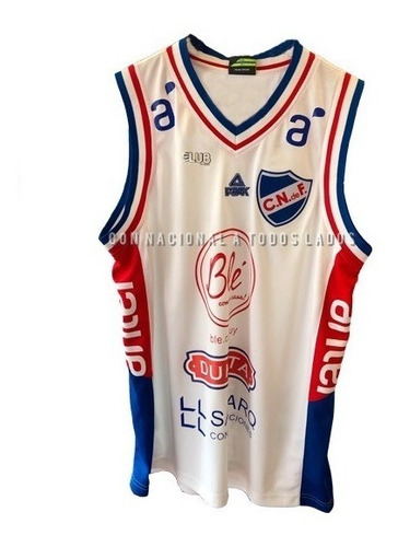Camiseta Nacional Basquet 2019/2020 Con Sponsors Adulto