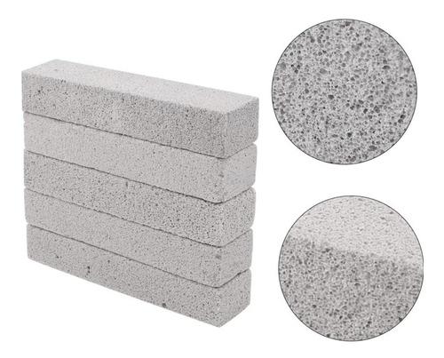 5 X Piedras Pomex Limpieza Sanitarios Cocina 15x3.5x2.5cms