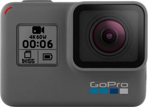 Gopro Hero 6 Black + Funda Rígida + Batería Extra