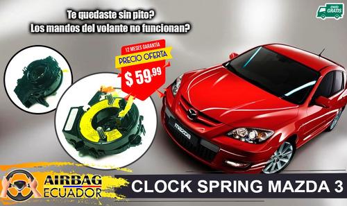 Cinta Clock Spring Mazda 3 - Mazda 6 - Mazda Bt50  Mazda 2 Foto 4
