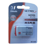 Bateria Recargable 9v Full Total 250mah Niquel Metal