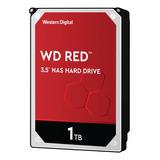 Disco Duro Interno Western Digital Wd Red Wd10efrx 1tb Rojo